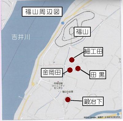 福山周辺図