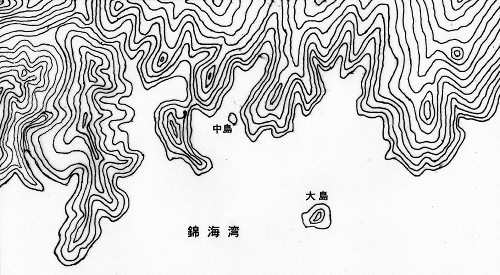 尻海の元の地形